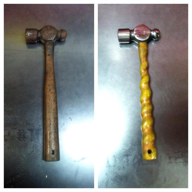 Read more: Ball Peen Hammers Restored by Vulcan Knife
