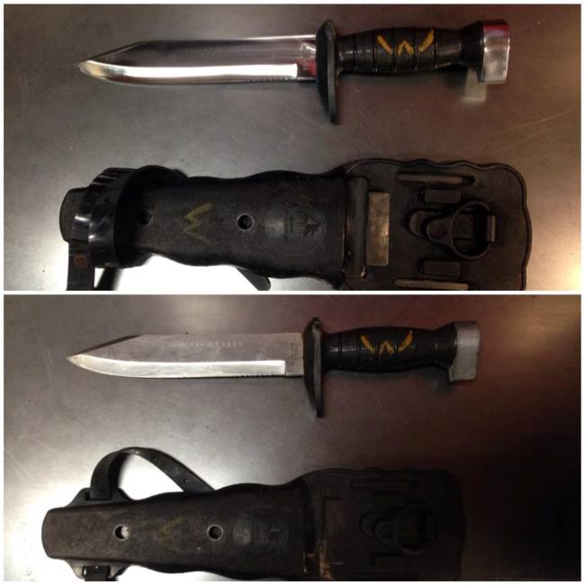 Read more: Diving Knife Polished and Restored by Vulcan Knife